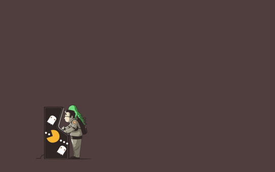 Pacman Vs Ghostbusters